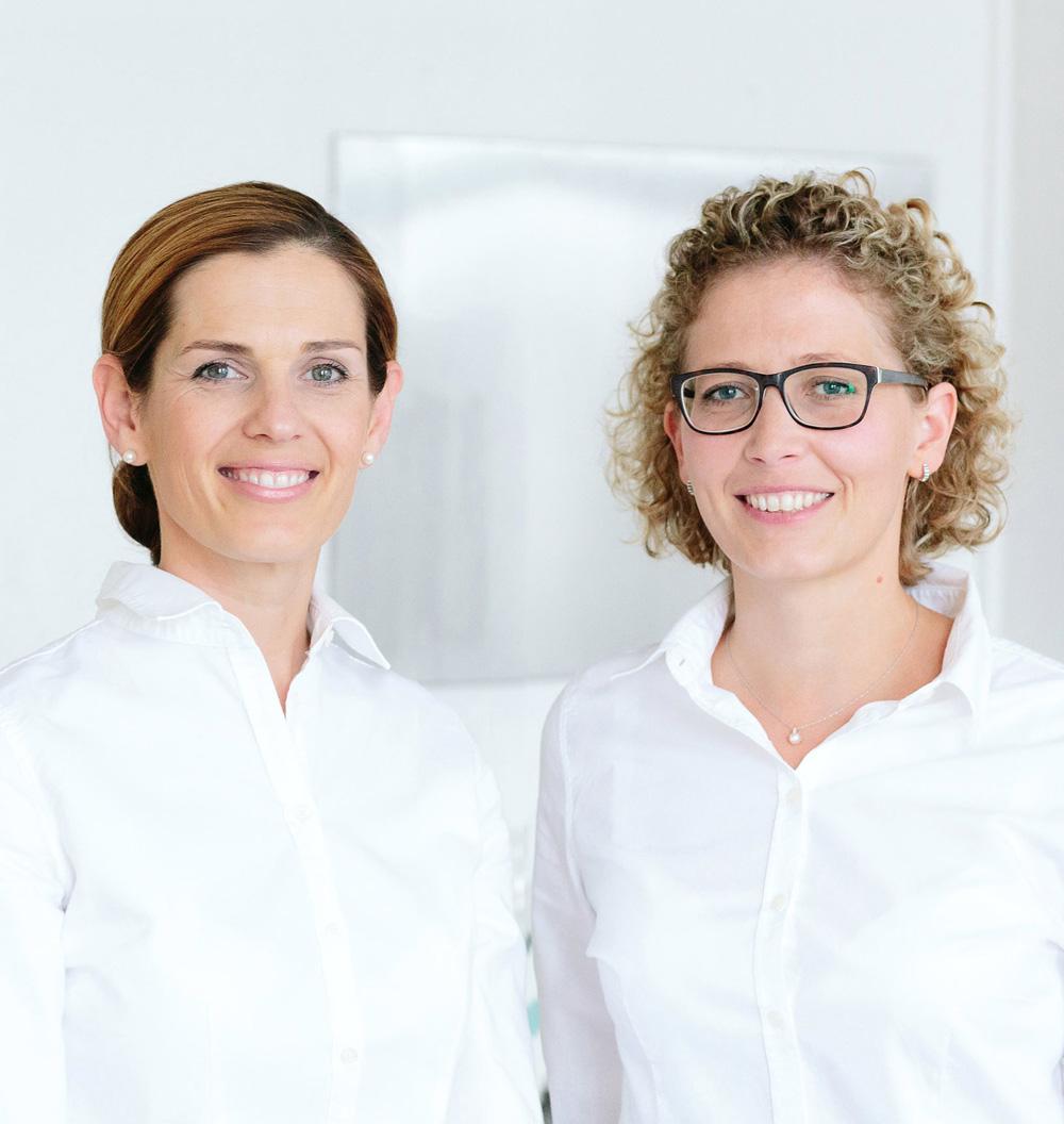 Ina Lübke und Dr Katharina Kühner